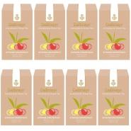 Dallmayr Grüner Tee Zitrone - Grapefruit Aromatisiert 8 x 100g