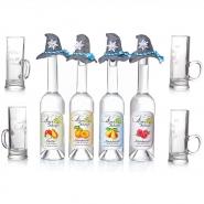 Das Original aus dem Alpenland jede 0,5l Flasche mit Filzhut