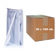 Plastikmesser 16,5 cm Einwegbesteck 30 x 100 Stk.
