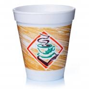25 Styroporbecher Thermobecher 02l Kaffeetasse Isolierbecher