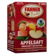 Fahner Apfelsaft Naturtrüb Direktsaft Bag-In-Box 5l