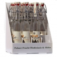 Fahner Weimar Classic Obstbrand 40% vol. Display 12 Portionsflaschen je 40 ml