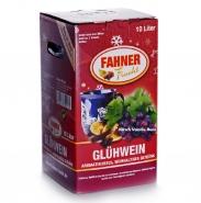 Fahner Glühwein Kirsch - Vanille - Rum 10% vol. Bag in Box