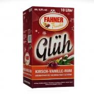 Fahner Kirsch Vanille Rum Glühwein Bag/Box 10 Liter