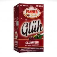 Fahner Glühwein aus Roten Traubenwein 9,5 % vol. Bag-In-Box 10 Liter