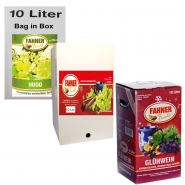 Fahner Glühwein 10L Bag in Box 10% vol. verschiedene Sorten