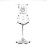 Fahner Obstbrand Glas Grappa 1 Stiel-Glas Bugatti Kelch 2cl + 4cl