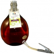 Fruli Roter Holler Holunderblüte Likör 5 Liter 15% vol. mit Glasballon 5,25 ltr.