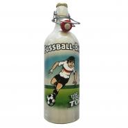 Dingslebener Fussball-Bier Keramik Flasche mit Nationalhymne