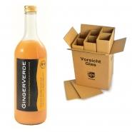 Gingerverde - Bio-Mehrfruchtsaft mit Ingwer ökologische Anbau 6 x 0,73 l