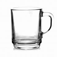 Glühweinglas Glühweinbecher 0,24l Henkelbecher Tee Glas 1 Stück