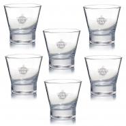 Rum Gläser Mojito 6 Havana Club Tumbler Glas 2cl - 4 cl Füllstrich Rastal