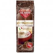 Hearts Cappuccino feine Kakaonote 1kg Typ Italienisch