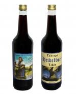 Thüringer Heidelbeer Likör 30% Vol 0,7 l Liquer