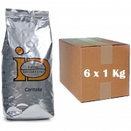 Idee Kaffee Cantate 6 x 1Kg Cafe Creme ganze Bohnen