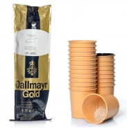 Dallmayr Gold Kaffee - Schwarz 300 Incup Automatenbecher á 2,3g