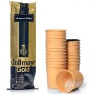 Dallmayr Incup Gold Kaffee schwarz mit Zucker 300 Becher á 7,8g