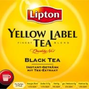 Lipton Incup Yellow Schwarzer mit Zucker 500 Becher á 13g