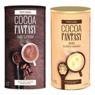 Jacobs Cocoa Fantasy Mix Weiße Dunkle Trinkschokolade 1850g