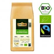 Jacobs Good Origin Espresso Bio (NO-ÖKO-01) Fairtrade 1Kg ganze Bohne