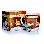 Jacobs Geschenktasse 340ml Kaffeebecher Weihnachten