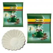 Jacobs Krönung Balance 40 x 60g Kaffee gemahlen + 50 Korbfilter