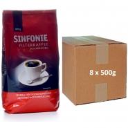 Jacobs Kaffee Sinfonie Classic 5 x 800g Kaffee gemahlen