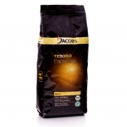 Jacobs Tesoro Espresso RA Café Bio 8 x 1000 g = 8 Kg, 100% Arabica-Kaffee