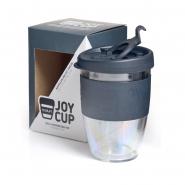 Joy Cup - 300 ml Mehrwegbecher in Anthrazit-Schwarz