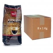 Käfer Espresso forte 8 x 1Kg ganze Bohnen