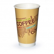 25 Coffee to go Becher 0,4l Doppelwand 48cl Coffee Design
