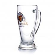 Kapuziner Weißbier Glas 0,5l Bierkrug mit Henkel