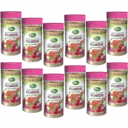 12 x King George Instant-Teegetränk 400g Raspberry-Himbeere