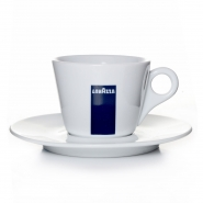 Lavazza Cappuccino Tasse mit Untertasse BLU Collection