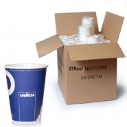 Lavazza to go Becher 270cc Pappbecher 1000 Kaffee to go Becher