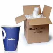 Lavazza Coffee to go Becher 360cc Pappbecher 1000 Stk