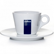 Lavazza Milchkaffeetasse mit Untertasse BLU Collection