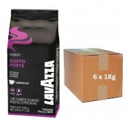 Lavazza Espresso Vending Gusto Forte 6 x 1Kg ganze Bohne