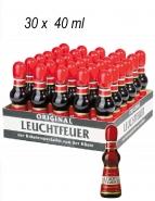 Leuchtfeuer Kräuterlikör 32 % vol. Portionsflaschen 30er Packung 40 ml