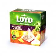 Loyd Tea Ananas & Birnen 20 Pyramiden á 2 g