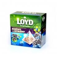 Loyd Tea Heidelbeeren & Brombeeren 20 Pyramiden á 2 g