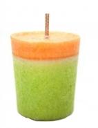 votivkerzen Eika, Duft- Stubs Kerzen Mandarine, Orange