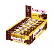 Marco Polo Waffeln Kakao classic Schokoriegel im Display 25 Riegel x 34g