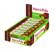 Marco Polo Waffeln Riegel Haselnuss im Display 25 Riegel x 34g