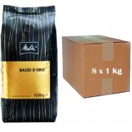 Melitta Bacio Doro Espresso 8 x 1Kg ganze Bohnen