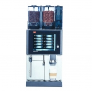 Melitta Cafina CT8 Kaffeevollautomat, 1 Mühle, Instantmodul, Milchschäumersystem