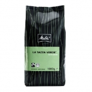 Melitta Café Créme La Tazza Verde Bio Fairtrade 1Kg ganze Kaffee-Bohne