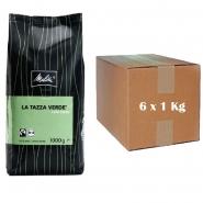 Melitta La Tazza Verde Bio Café Cremé 6 x 1Kg ganze Bohnen