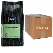 Melitta La Tazza Verde Espresso Bio Fairtrade 6 x 1kg ganze Bohne