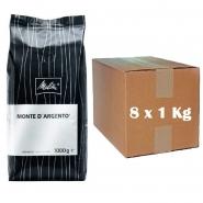 Melitta Monte de Argento Schümli 8 x 1 kg ganze Bohnen